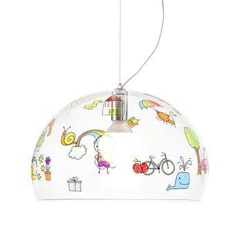 Kartell - Children's FL/Y Ceiling Light - Sketch - Medium (H33 x W52 x D52cm)