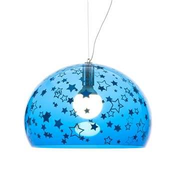 Kartell - Children's FL/Y Ceiling Light - Stars - Blue (H33 x W52 x D52cm)