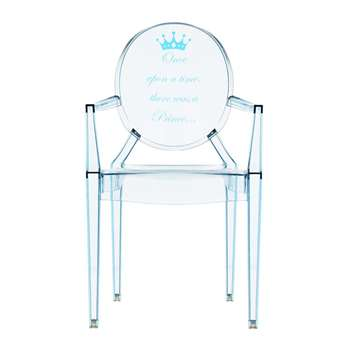 Kartell - Children's Lou Lou Ghost Chair - Prince (62 x 39.6cm)