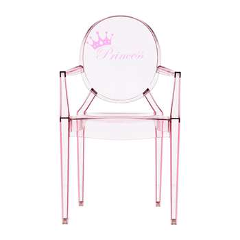 Kartell - Children's Lou Lou Ghost Chair - Princess (62 x 39.6cm)