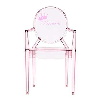 Kartell - Children's Lou Lou Ghost Chair - Princess (62 x 39.6cm)