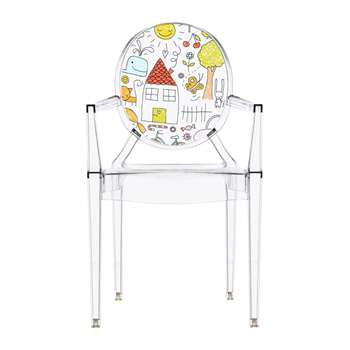 Kartell - Children's Lou Lou Ghost Chair - Sketch (62 x 39.6cm)