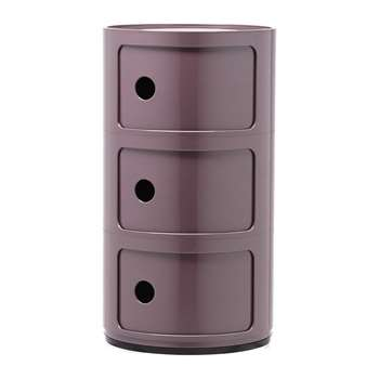 Kartell - Componibili Storage Unit - Purple - Medium (Height 58.5cm)