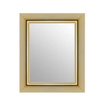 Kartell - Francois Ghost Mirror - Gold - Small (79 x 65cm)