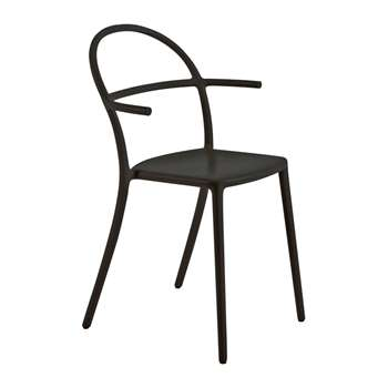 Kartell - Generic C Chair - Black (H83.5 x W52 x D52cm)