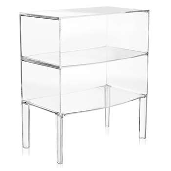 Kartell - Ghost Buster Commode - Crystal (H80 x W68 x D42cm)