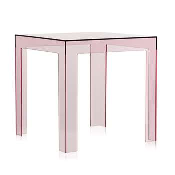 Kartell - Jolly Side Table - Pink (40 x 40cm)