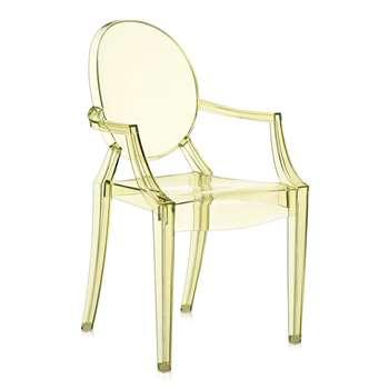 Kartell - Louis Ghost Armchair - Straw Yellow (94 x 54cm)