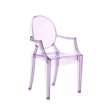 Kartell - Loulou Ghost Children's Chair - Violet (62.5 x 39cm)