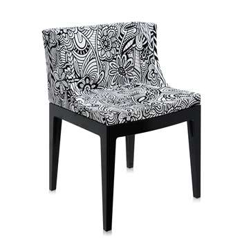 Kartell - Mademoiselle 'a la mode' Black Chair - Cartagena (74 x 55cm)
