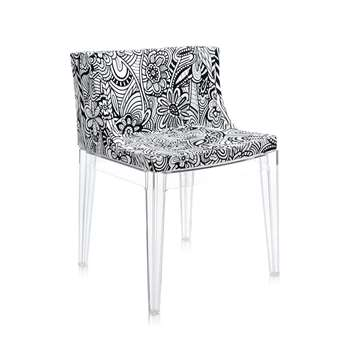 Kartell - Mademoiselle 'a la mode' Transparent Chair - Cartagena (74 x 55cm)