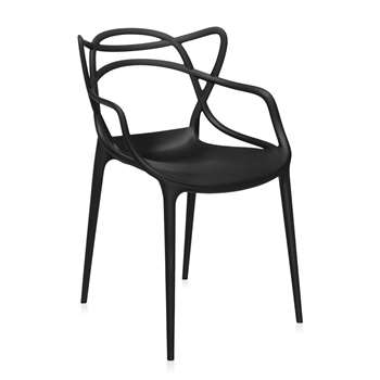 Kartell - Masters Chair - Black (84 x 57cm)