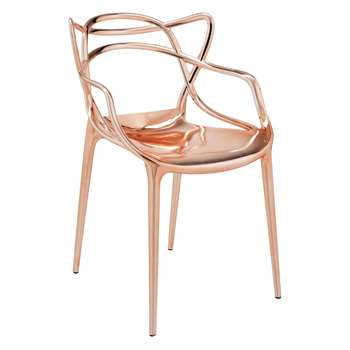 Kartell - Masters Chair - Copper (H84 x W57 x D47cm)