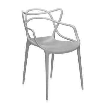Kartell - Masters Chair - Grey (84 x 57cm)