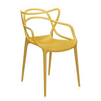 Kartell - Masters Chair - Mustard (84 x 57cm)