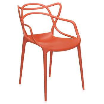 Kartell - Masters Chair - Rusty Orange (H84 x W57 x D47cm)