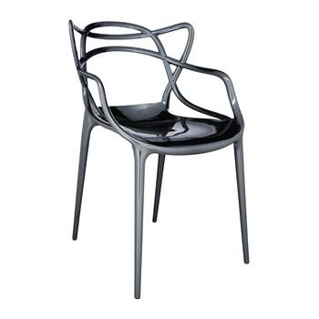 Kartell - Masters Chair - Titanium (84 x 57cm)