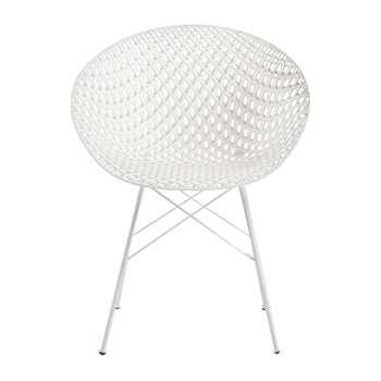 Kartell - Matrix Outdoor Chair - White (H77 x W61 x D55cm)