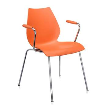 Kartell - Maui Armchair - Orange (77 x 58cm)