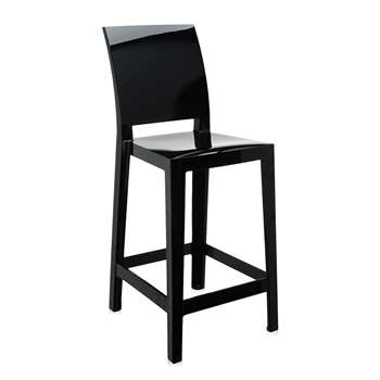 Kartell - One More Please Stool 65cm - Black (99 x 37.5cm)