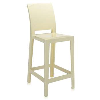 Kartell - One More Please Stool 65cm - Yellow (99 x 37.5cm)