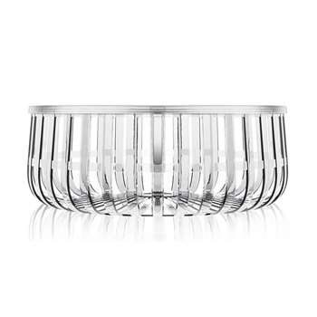 Kartell - Panier Table - Crystal (21 x 61cm)