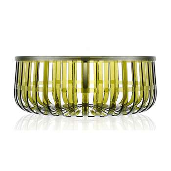 Kartell - Panier Table - Dark Green (21 x 61cm)