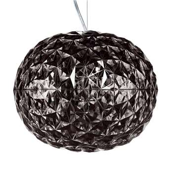 Kartell - Planet Ceiling Lamp - Smoke (H27 x W33 x D33cm)