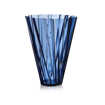 Kartell - Shanghai Vase - Blue (44 x 35cm)