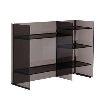 Kartell - Sound-Rack Shelf - Smoke (53 x 75cm)