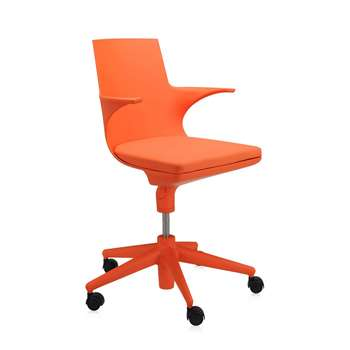 Kartell - Spoon Chair - Orange (60 x 70cm)