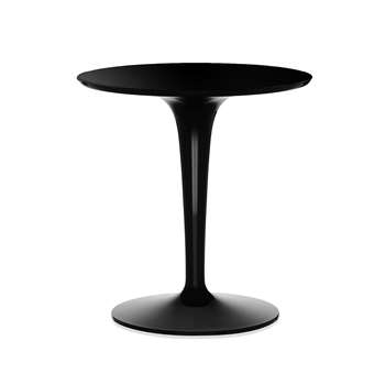 Kartell - Tip Top Side Table - Mono Black (H51 x W48 x D48cm)