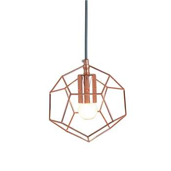 Kasper Polygon Pendant Light (18 x 18cm)