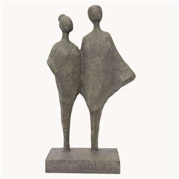 Kenton Grey Standing Statuette (H30.7 x W17.2 x D8.7cm)