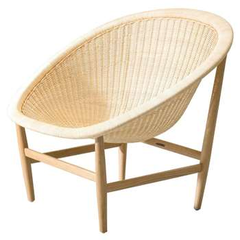 Kettal - Basket Chair, Beige (76 x 85cm)