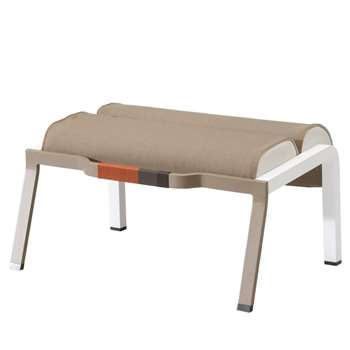 Kettal - Bob Club Foot Stool, Beige (35 x 93cm)
