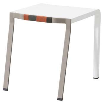 Kettal - Bob Club Side Table, Beige/White (53 x 45cm)