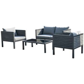 Kevin 4 Seater Conversation Set