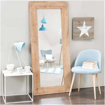 KEY WEST recycled elm mirror H 160cm