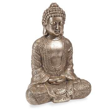 Kibungo - Buddha Statuette (H23 x W17 x D9cm)