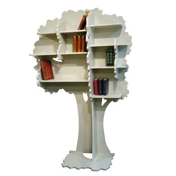 Kids Small Tree Bookcase in Sam Design 188 x 120cm