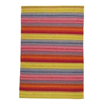 KIGALI jacquard weave rug, multicoloured (140 x 200cm)