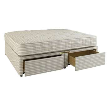 King Size Divan Bed with Drawers (61 x 198cm)