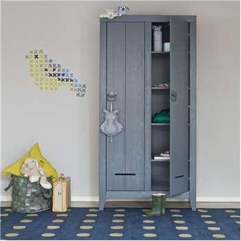 Kluis Locker Cabinet in Steel Grey 187 x 103cm