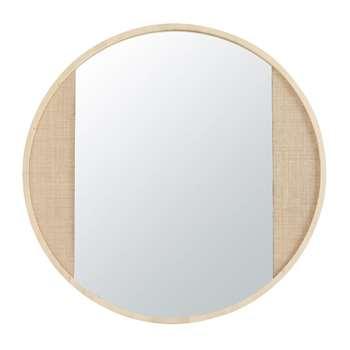 KOBORI Round Canework Mirror (Diameter 100cm)