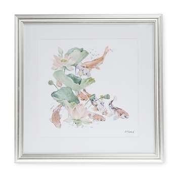Koi Fish Framed Print (H18 x W18cm)