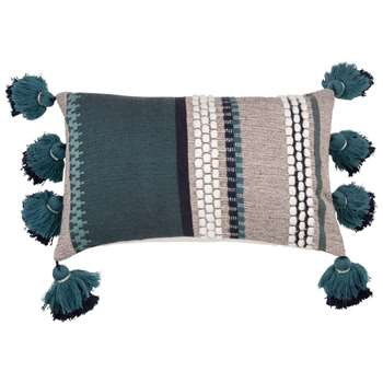 KOLARI Jacquard Cotton Cushion Cover (H30 x W50cm)