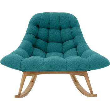 Kolton Rocking Chair, Mineral Blue (87 x 112cm)