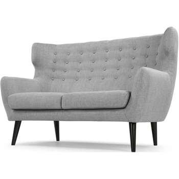 Kubrick 2 Seater Sofa, Pearl Grey (105 x 163cm)