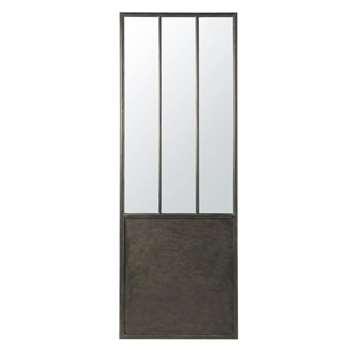 KYLE Black Metal Mirror (H190 x W67 x D3.5cm)